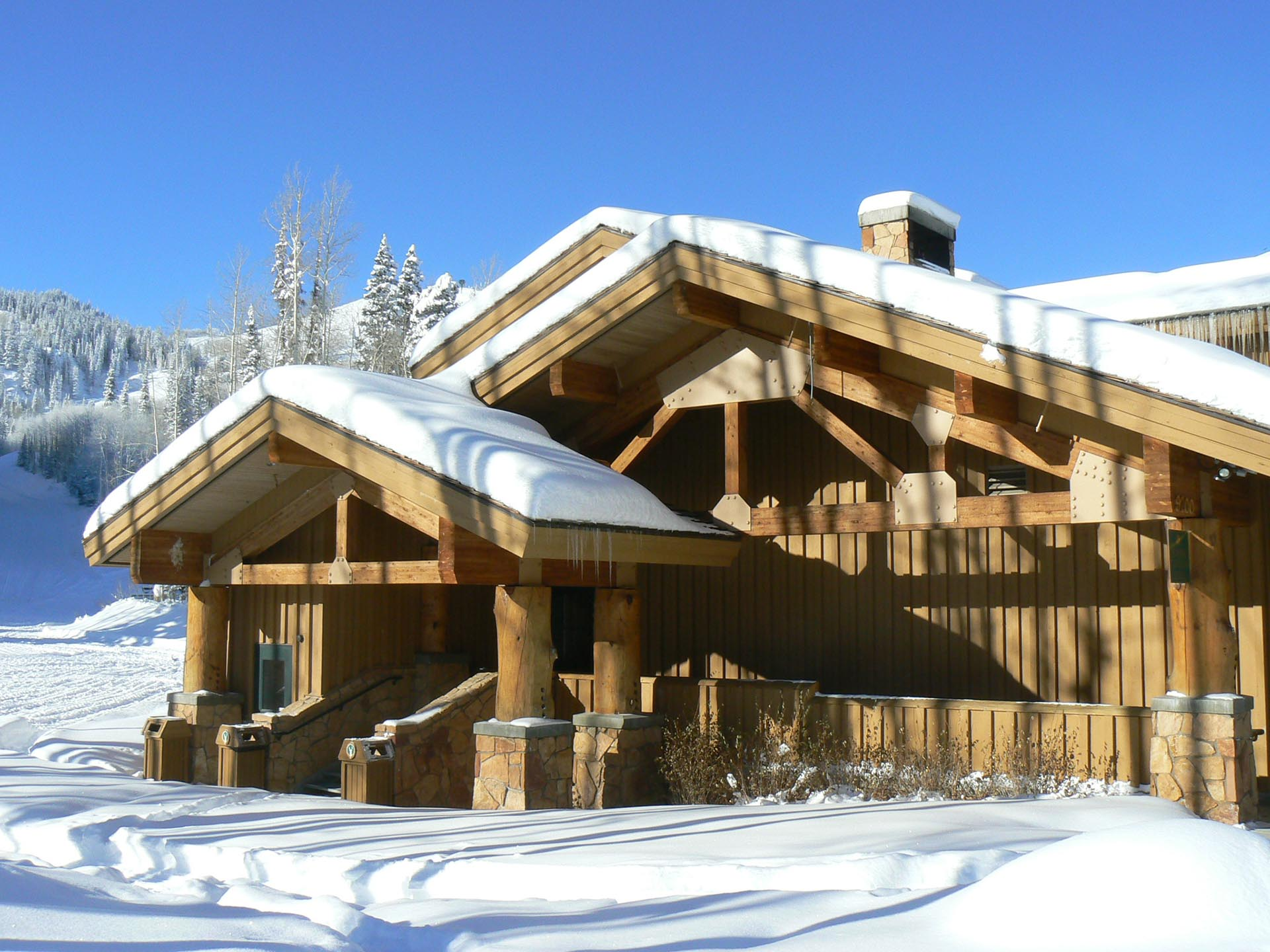 Deer Valley Resort   EMPIRE CANYON DAY LODGE - WPA ...