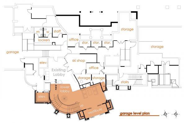Z:ProjectsDeer ValleyStag LodgeA2.4 Remodel Garage Level Flo
