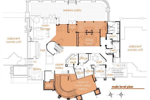 Z:ProjectsDeer ValleyStag LodgeA2.5 Remodel Main Level Floor