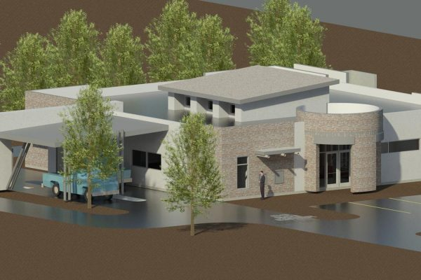 3D View from Southeast, 2013-02-11