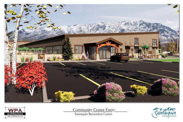 Community Center Entry_1 - F