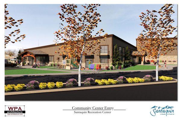 Community Center Entry_2