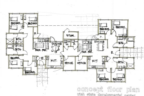 Dev Center, Floor Plan #1