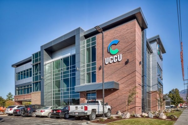 UCCU Provo, Utah by Big-D Construction.