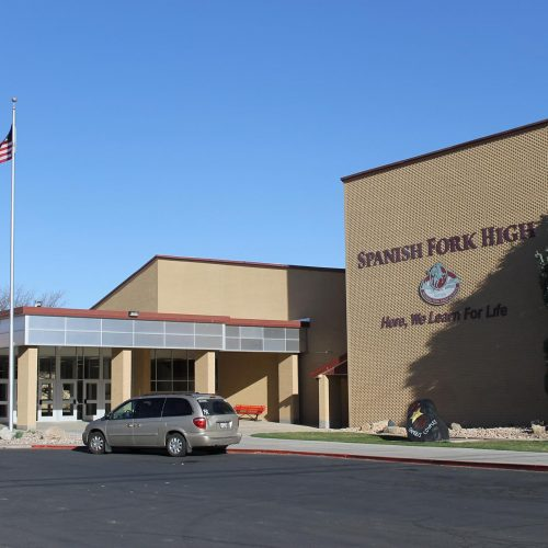 Spanish Fork HS Main Entry Renovation