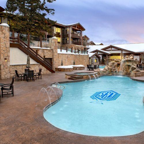 Stein Eriksen Lodge Pool and Entertainment Center