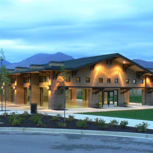 Spanish Fork City North Park Grand Pavilion