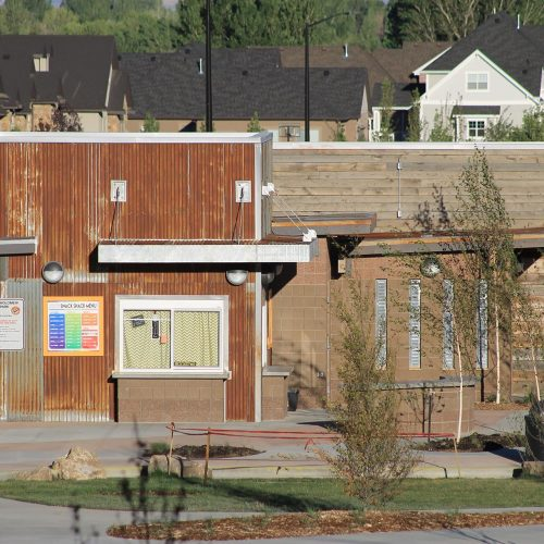 Springville City WAYNE BARTHOLOMEW FAMILY PARK RESTROOM AND CONCESSIONS BUILDING